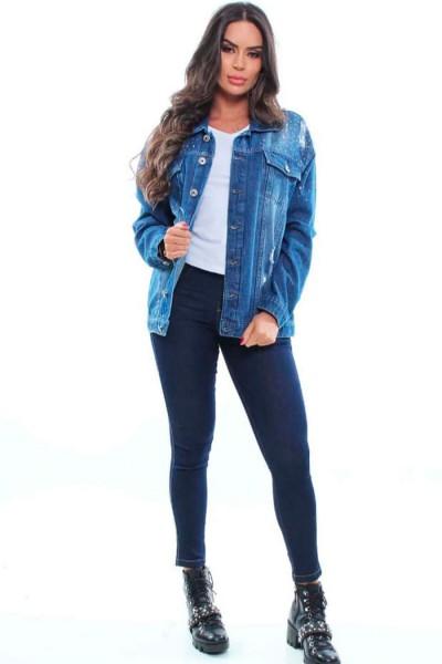 Max Jaqueta Jeans - 47453